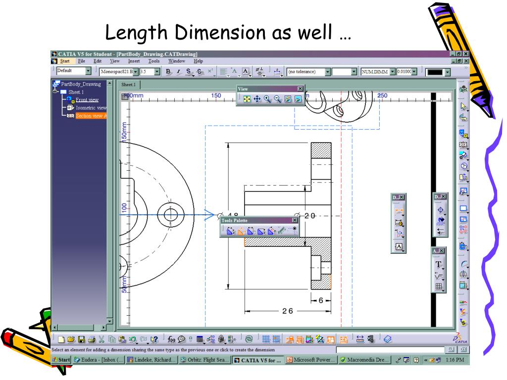 Length Dimension as well …