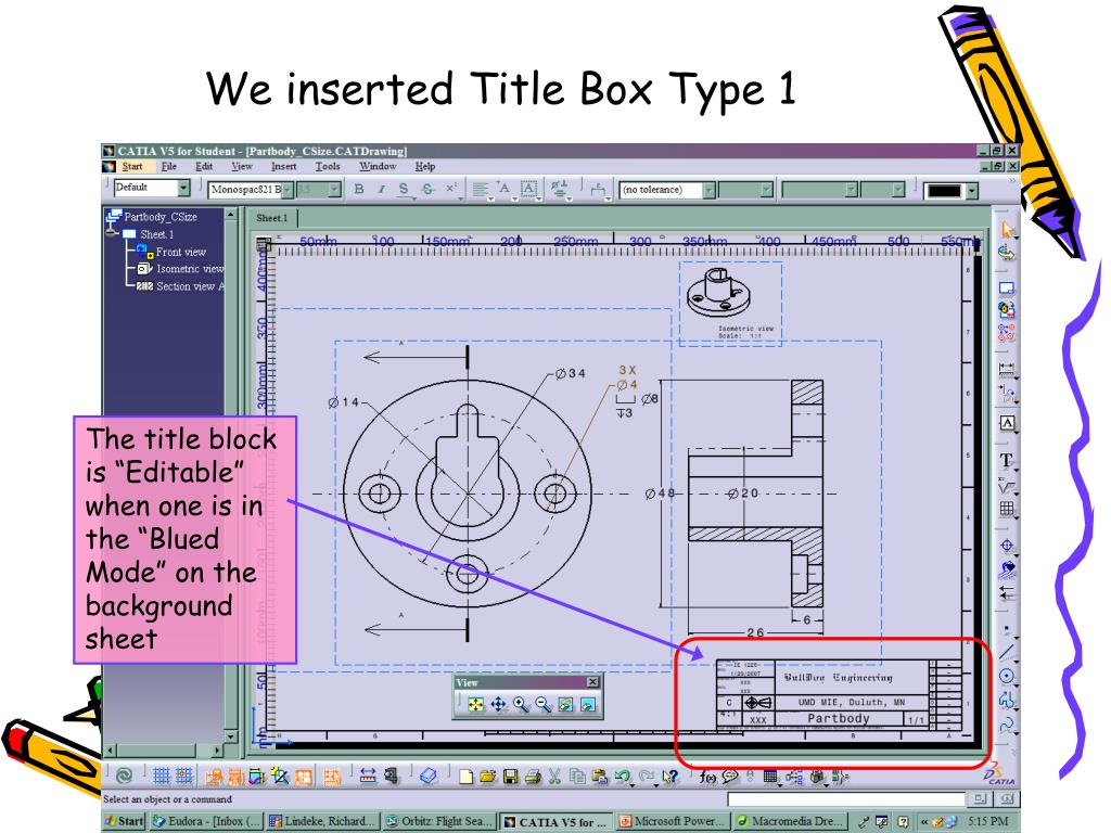 We inserted Title Box Type 1