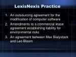 lexisnexis practice