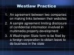 westlaw practice