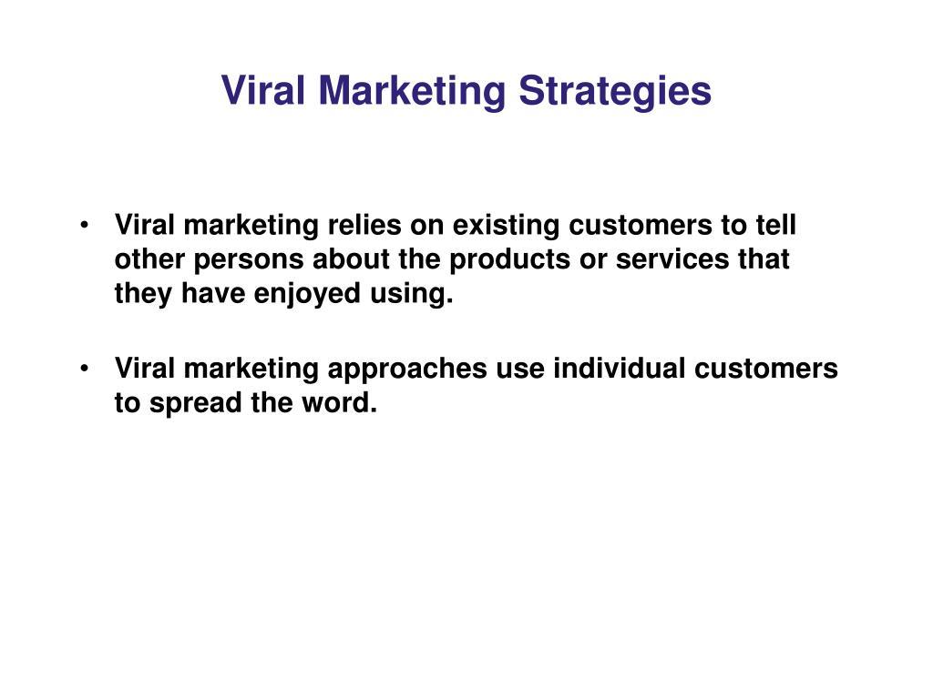 Viral Marketing Strategies