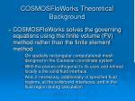 cosmosfloworks theoretical background