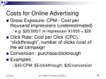 costs for online advertising