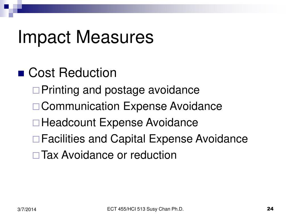 Impact Measures