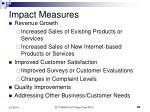 impact measures25