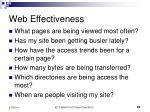 web effectiveness22