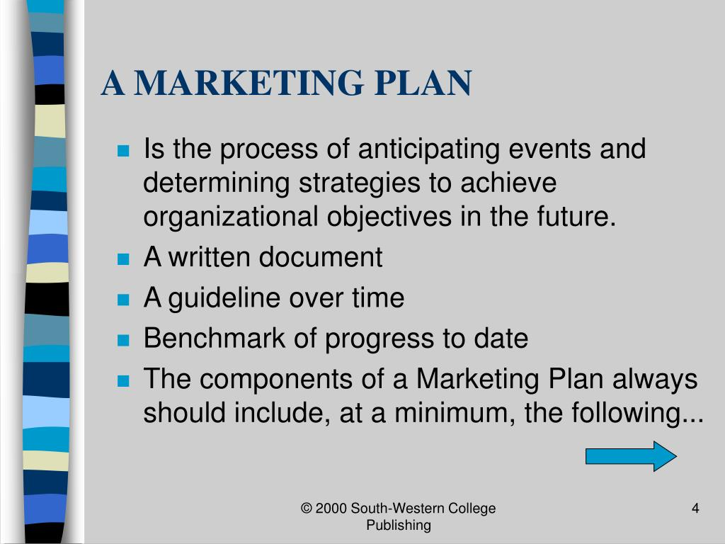 A MARKETING PLAN