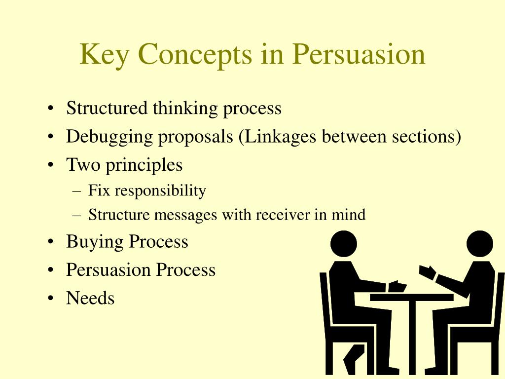 Key Concepts in Persuasion