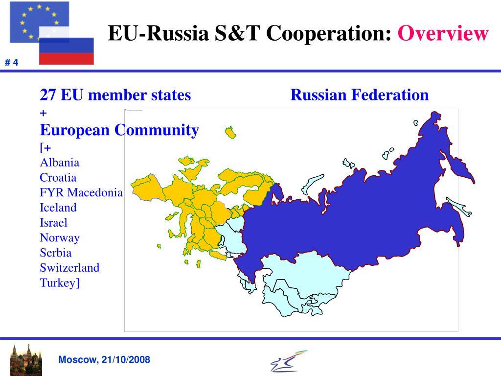 EU-Russia S&T Cooperation: