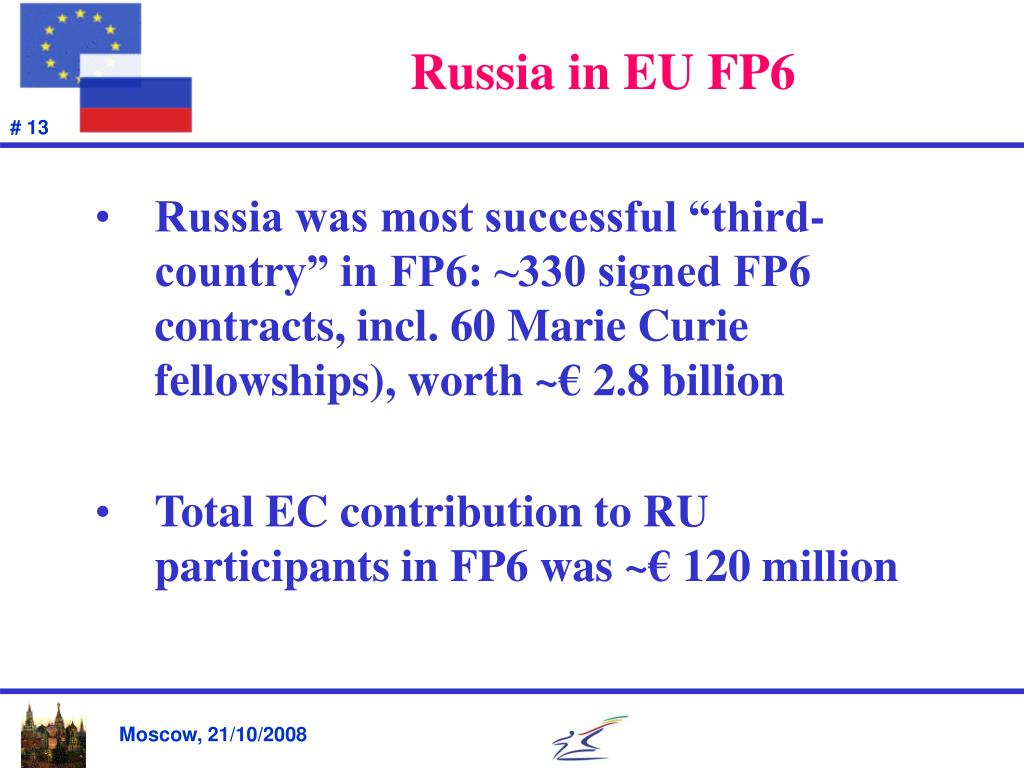 Russia in EU FP6