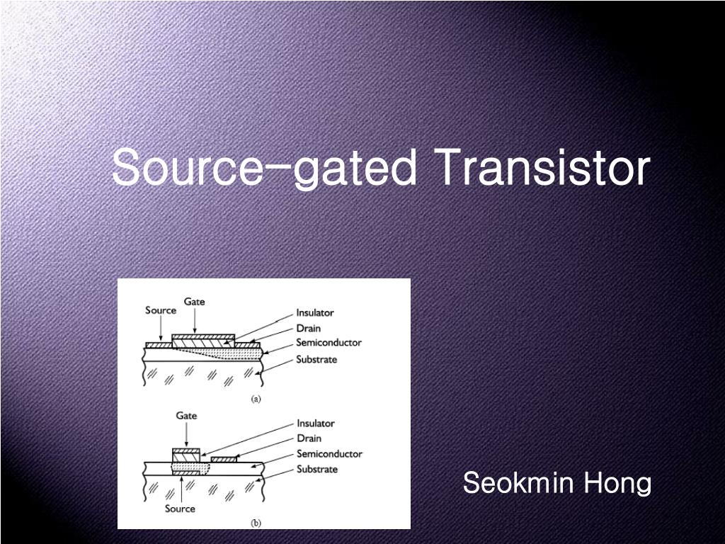 Source-gated Transistor