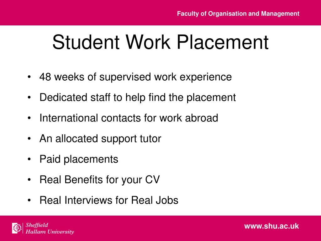 Student Work Placement