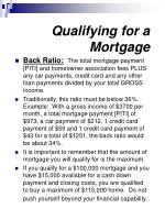qualifying for a mortgage11