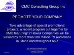 cmc consulting group inc15
