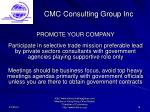 cmc consulting group inc16
