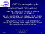 cmc consulting group inc17