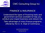 cmc consulting group inc18
