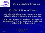 cmc consulting group inc19
