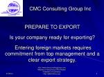 cmc consulting group inc4