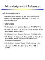 acknowledgments references