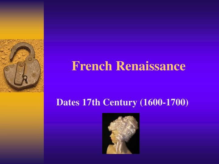 french renaissance n.