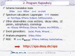 2 program repository