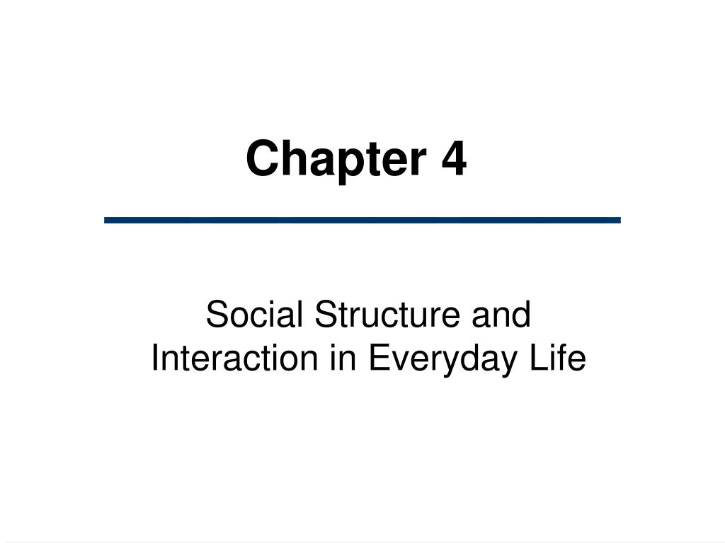 ch 4 sociology Elements of sociology: a critical canadian introduction, second edition: chapter 4 instructions: for each question, click on the radio button beside your answer when you have completed the entire quiz, click the 'submit my answers' button at the bottom of the page to receive your results.