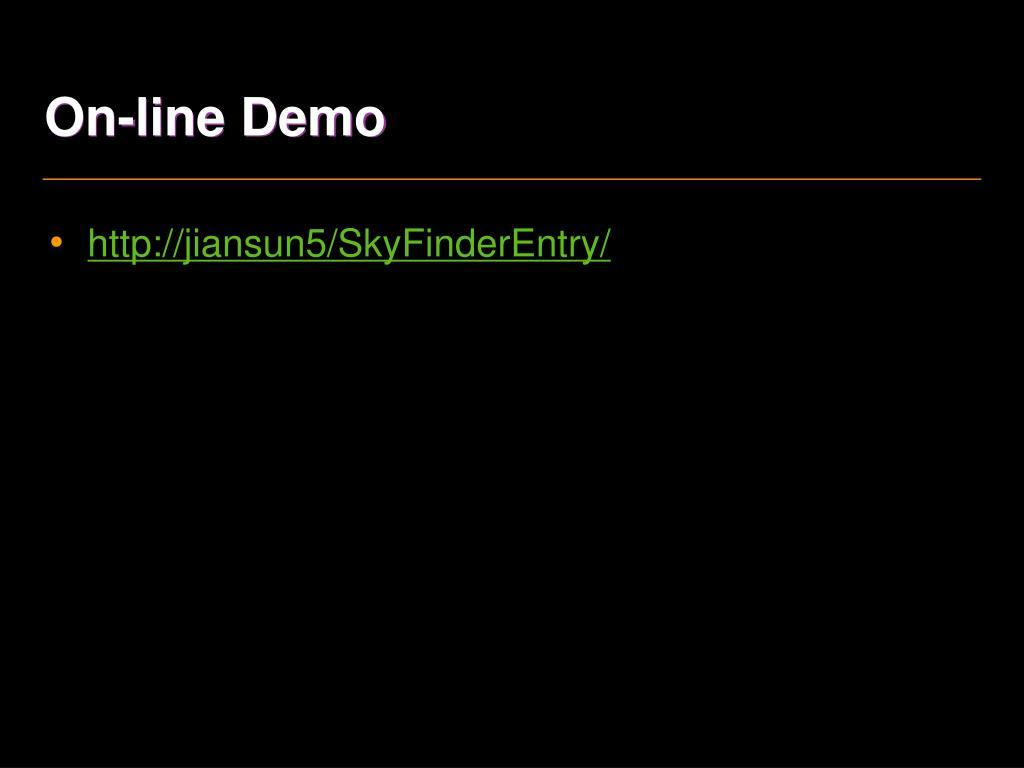 On-line Demo