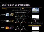 sky region segmentation