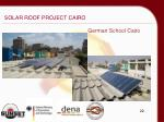 solar roof project cairo