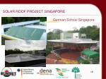 solar roof project singapore