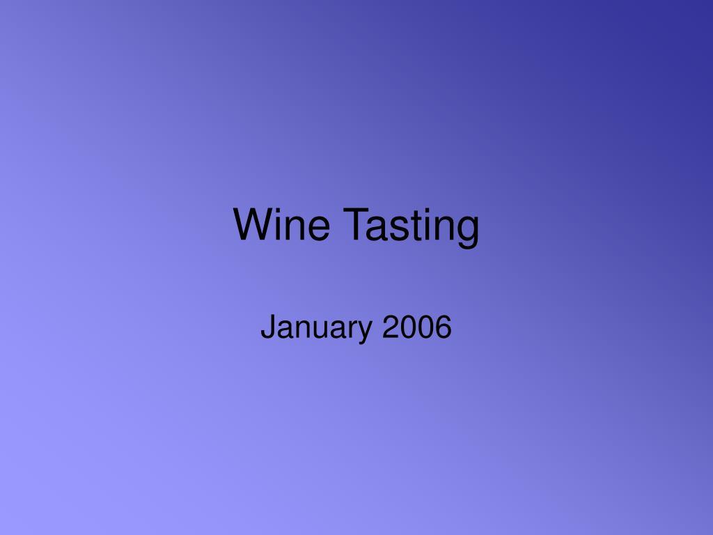 wine tasting l.