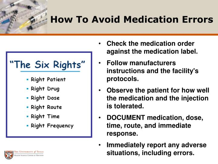 literature review mecication errors and 6 rights medicatio Review ncc merp's medication error index, classifying errors according to the severity of the outcome the index considers factors such as whether the error reached the patient and, if the patient was harmed, and to what degree.