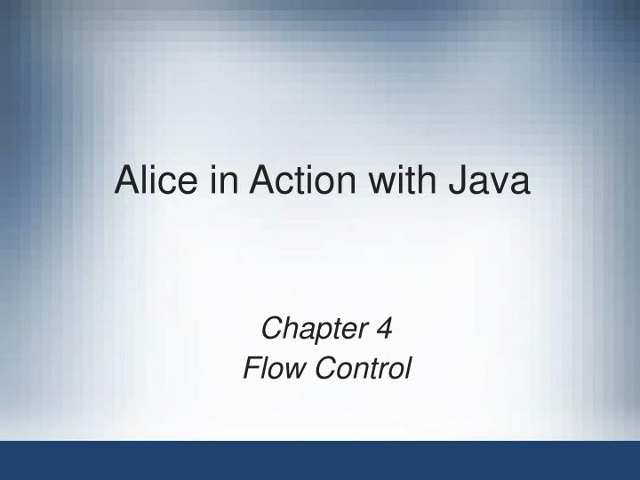 alice in action with java n.