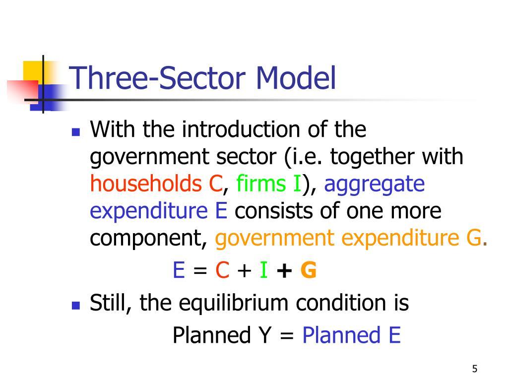 Three-Sector Model