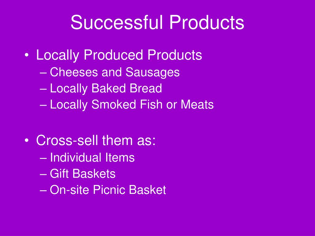 Successful Products
