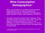 wine consumption demographics11