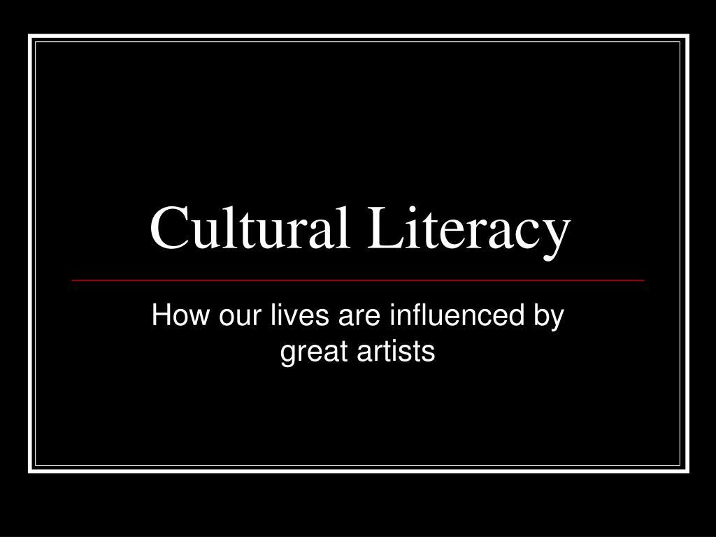cultural literacy l.