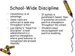 school wide discipline