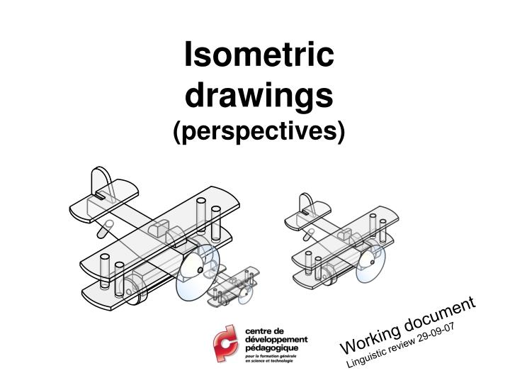 isometric drawings perspectives n.