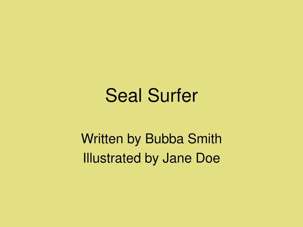 seal surfer l.