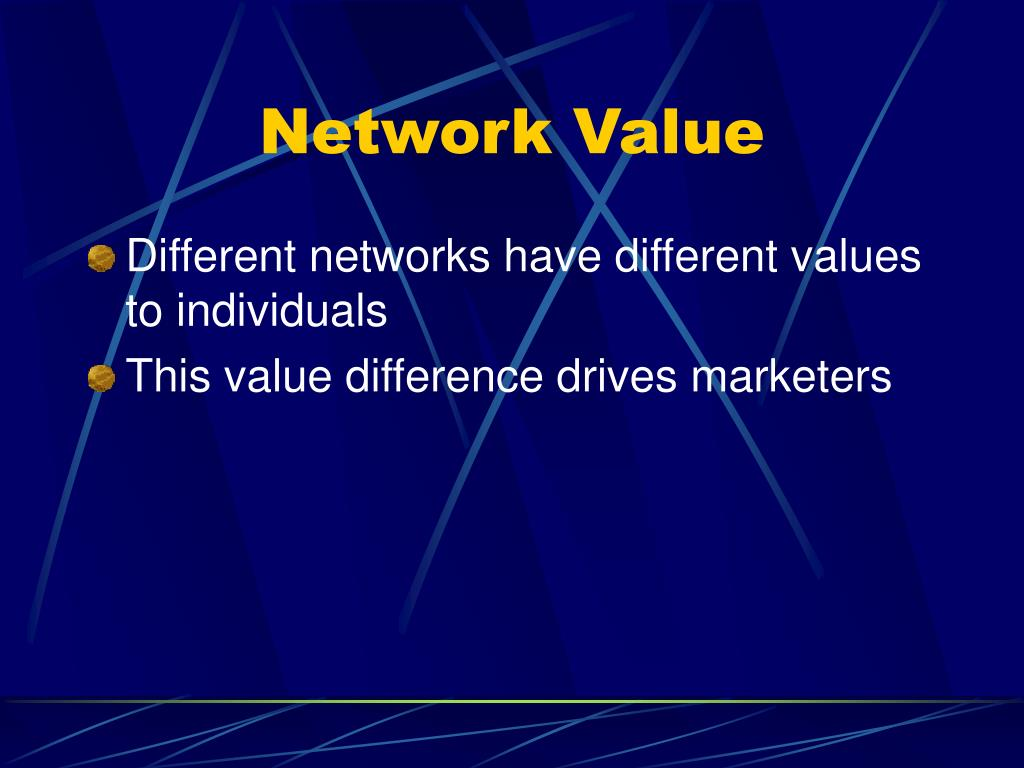 Network Value