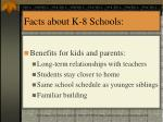 facts about k 8 schools13