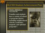 slcsd student achievement plan