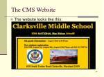the cms website