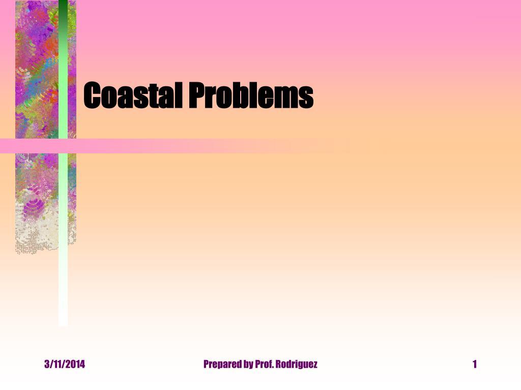 coastal problems l.