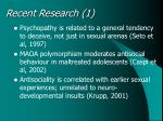 recent research 1