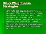 risky weight loss strategies21