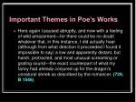 important themes in poe s works31