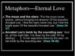 metaphors eternal love